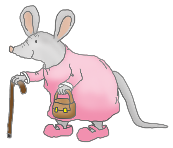 old sweet granny mouse