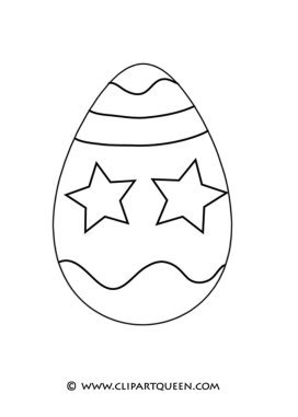 Easter coloring pages Easter egg