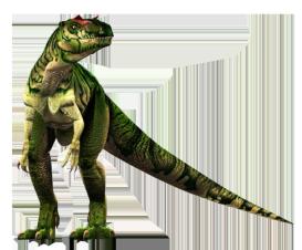 Allosaurus clipart