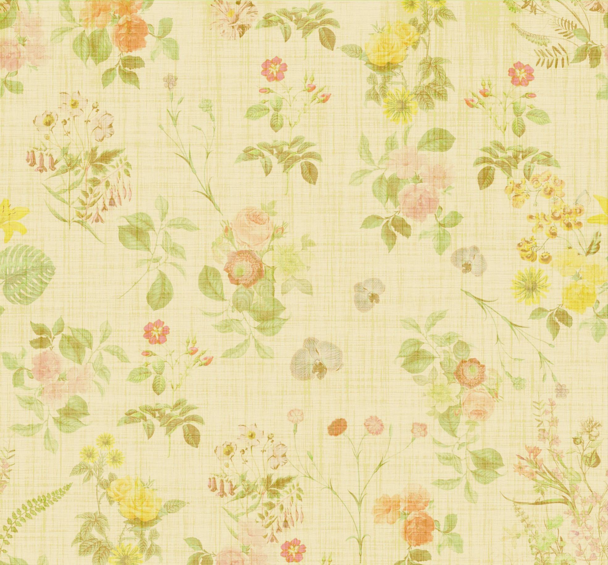floral vintage background for scrapbooking