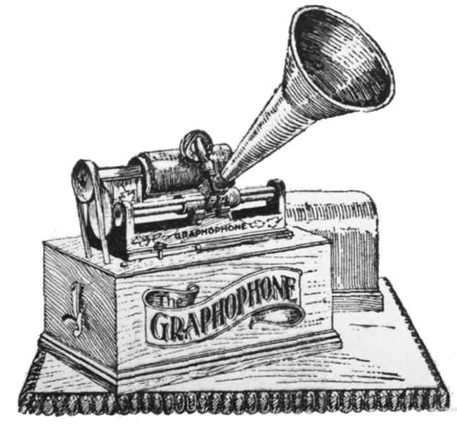 Victorian graphophone