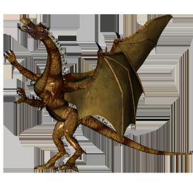 cool dragon clipart