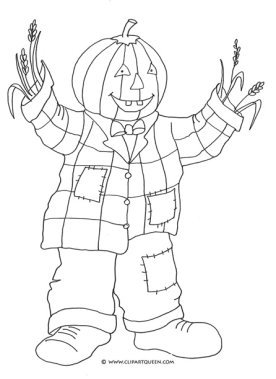 halloween printables pumpkin man