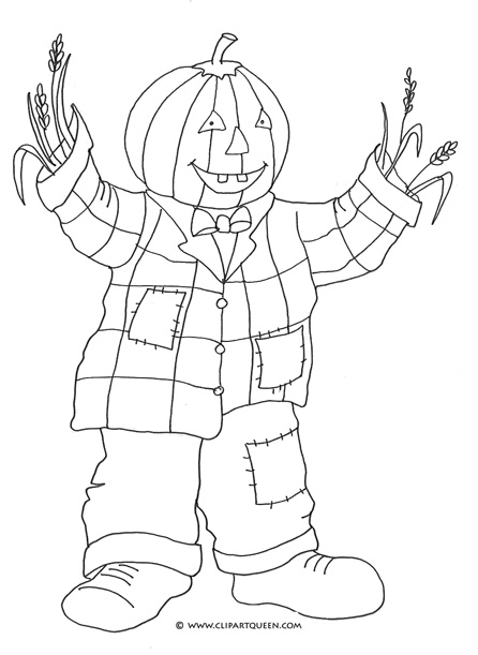 halloween printables pumpkin man