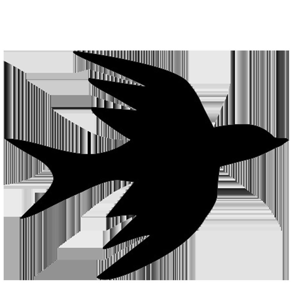 bird flight silhouette
