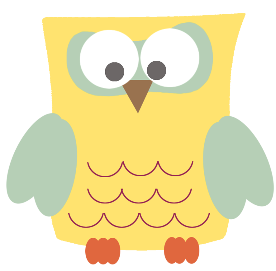 template of owl