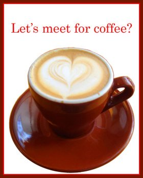 coffee invitations for Valentines day
