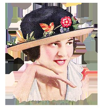 Ladies hat 1922
