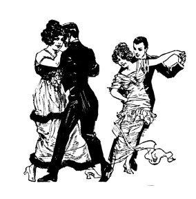 victorian dancing couples