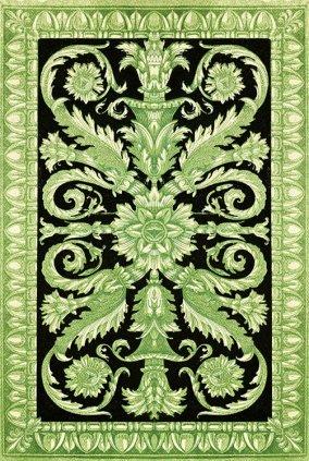 Victorian decorative ornament