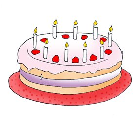 birthday cake clip art layer cake