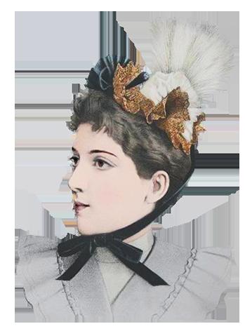 ladies dress hats 1838