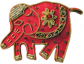 Elephant Indian clip art