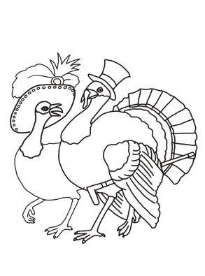 turkey couple thanksgiving parade