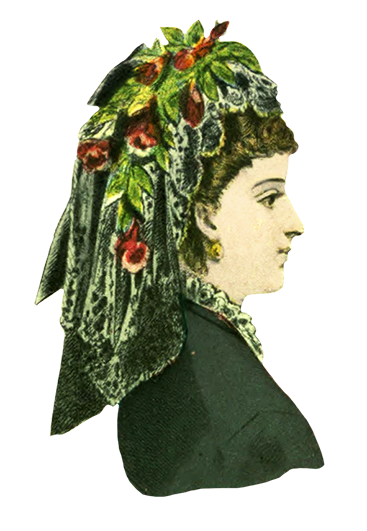 hat fashion for women 1872