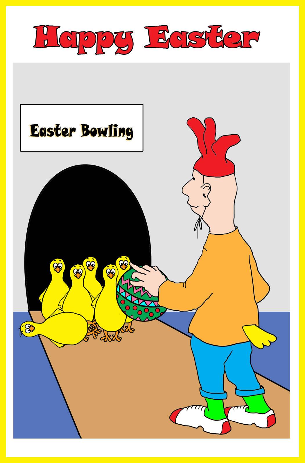 crazy Easter card