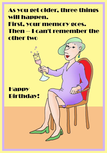 funny birthday card printable