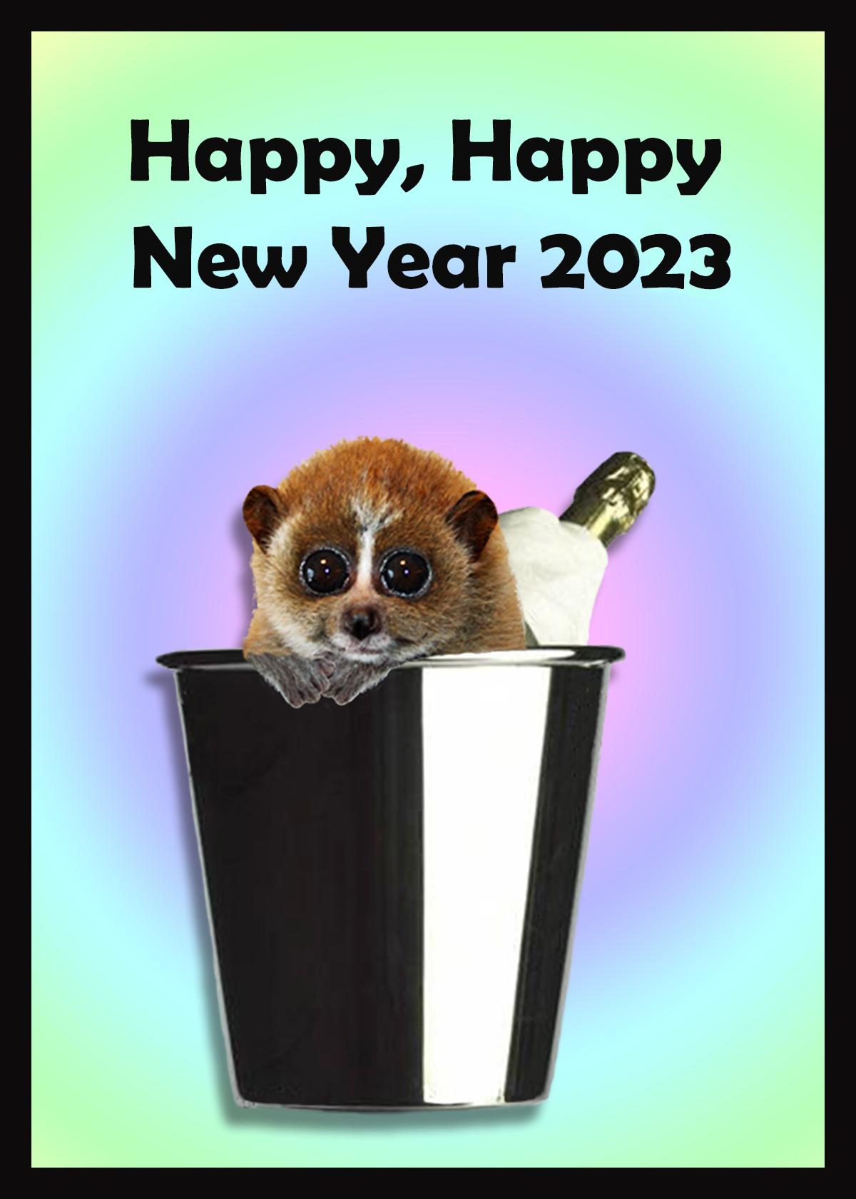 New Year 2016 greeting