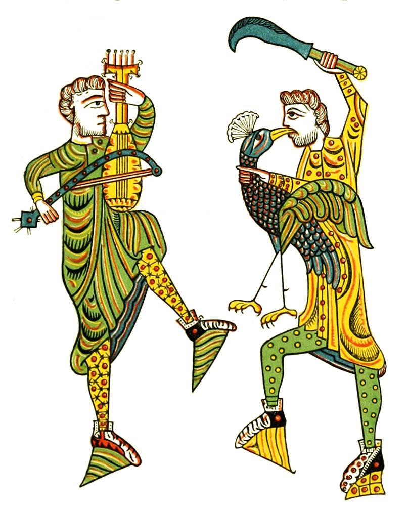Medieval clip art 11th century