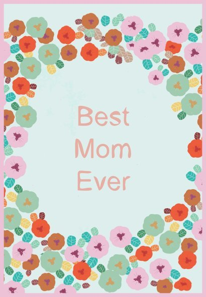 best mom ever cards