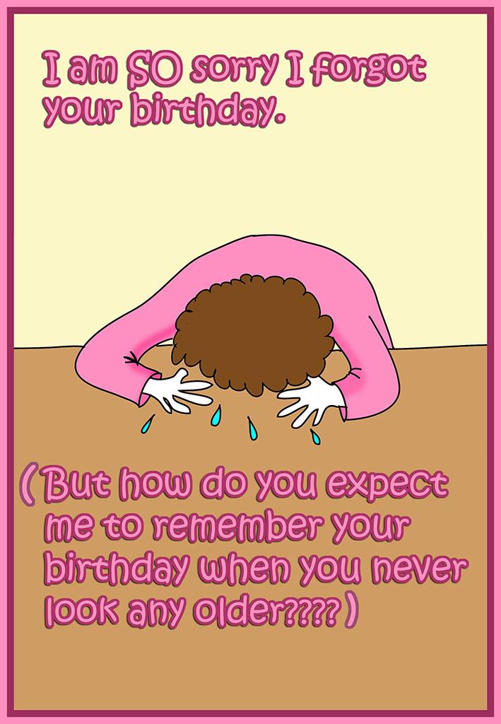 Forgetting birthday