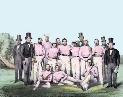 vintage cricket team