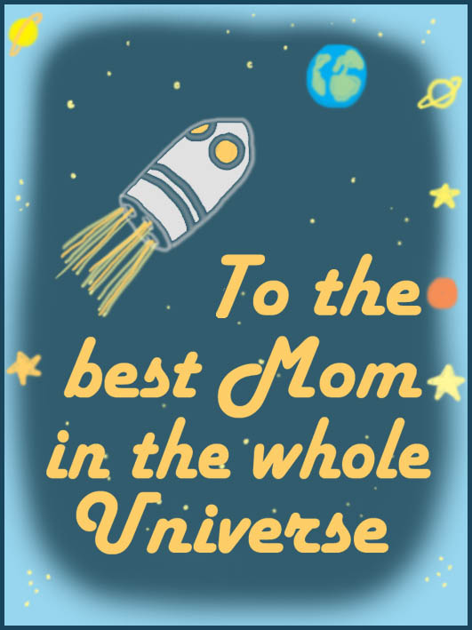 free mothers day card from the universe