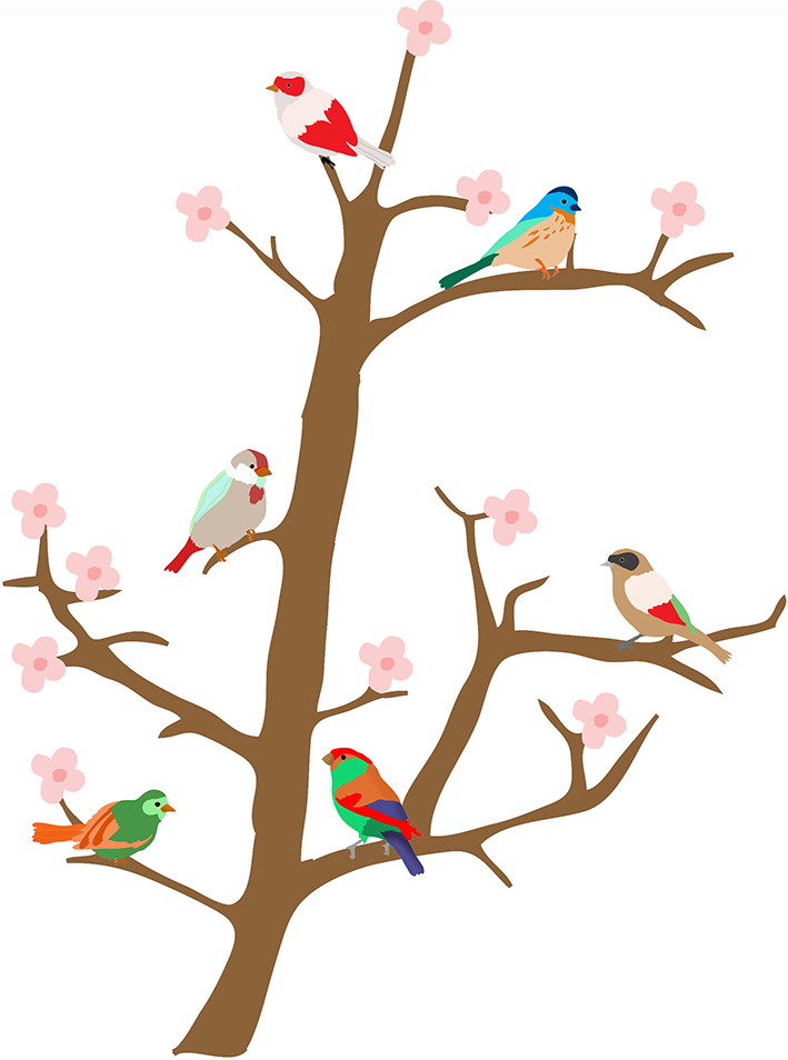 bransh-sticker-with-birds