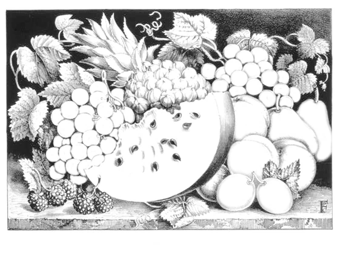watermelon and other fruits