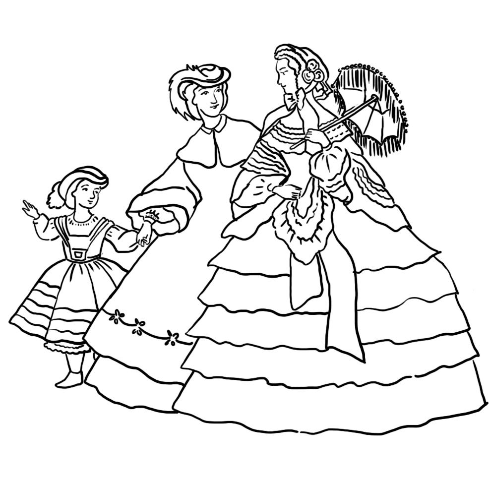 crinoline-coloring-page