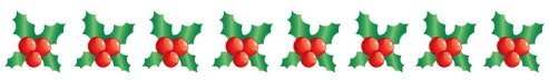 christmas clip art borders holly