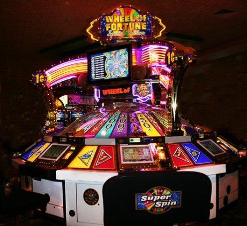 Wheel of fortune in Las Vegas