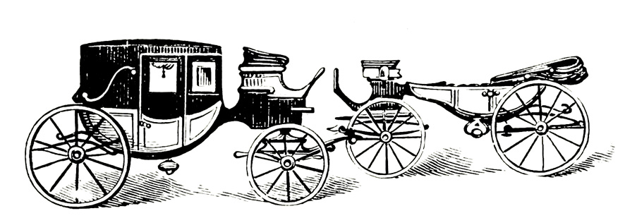 Two old wagons
