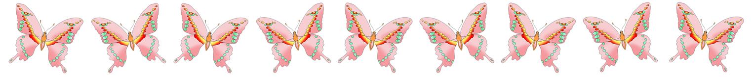 different ways pink butterflies