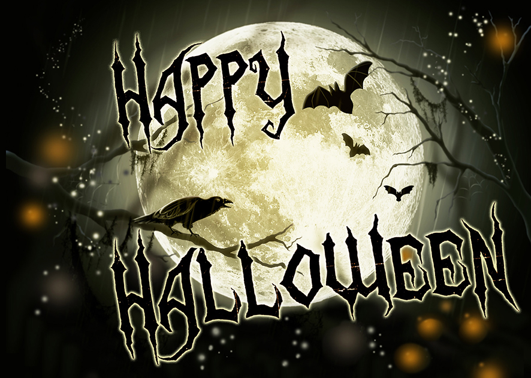 magical Halloween greeting