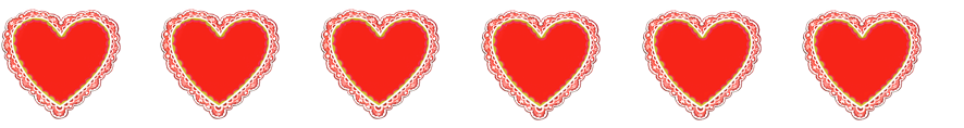 Free valentines day clipart borders with hearts