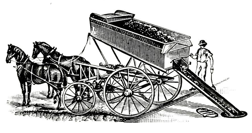 coal carriage unloading