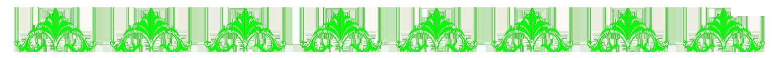 green border pattern