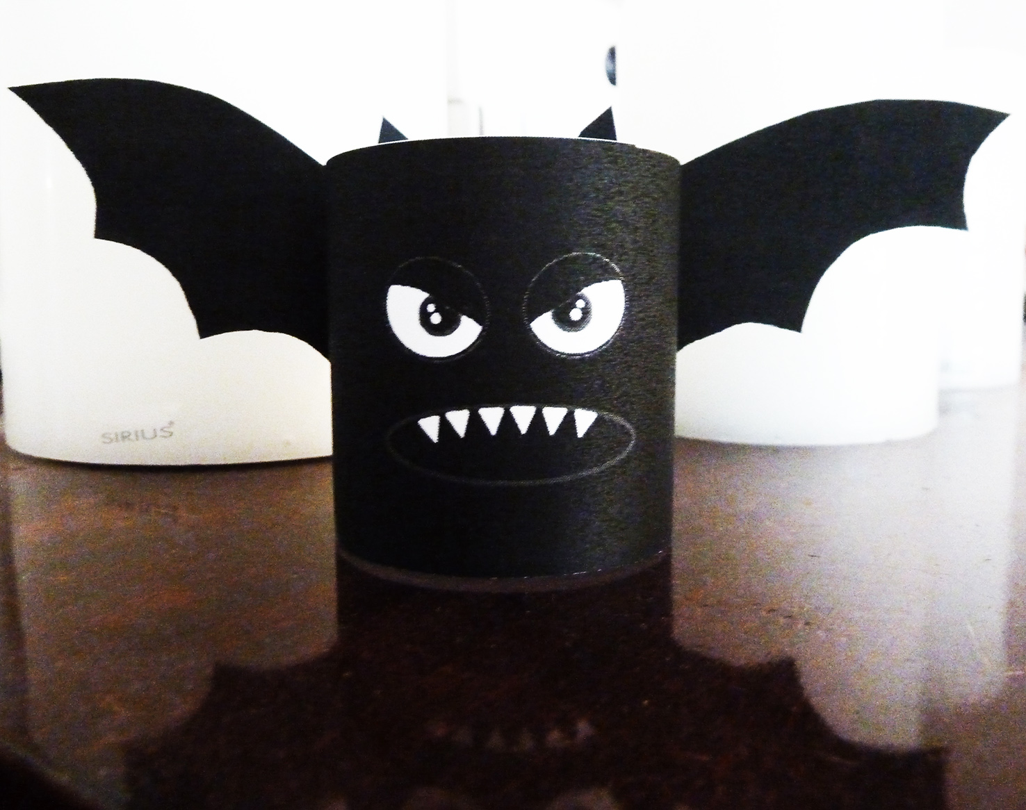 halloween craft bat