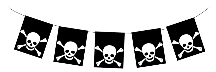 example of pirate banner