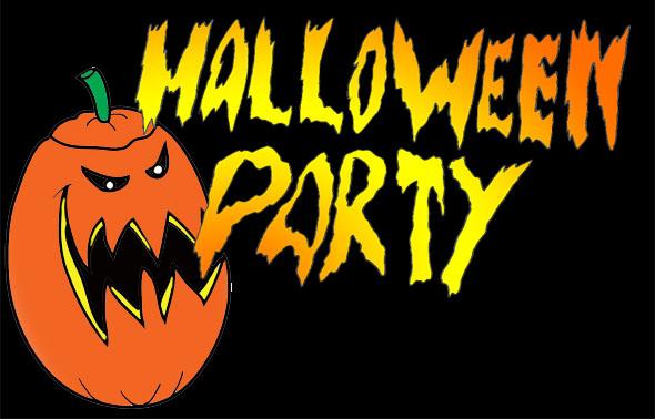 party clip art halloween invitation