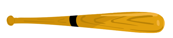 baseball bat clipart