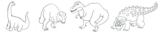 dinosaur-coloring-page-border