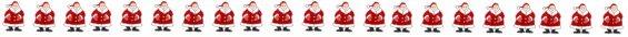 Santa border for Christmas