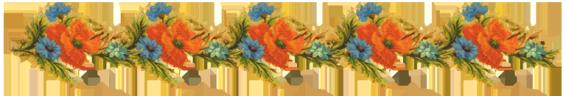 border digital scrapbooking flowers