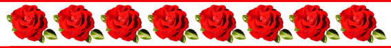 red rose border template