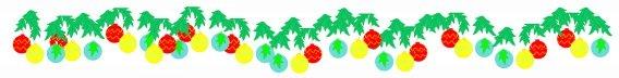 christmas bauble border