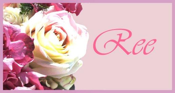 wedding invitation pink flowers