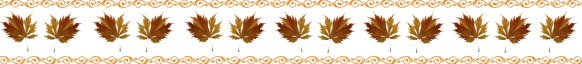 fall leaves clip art border