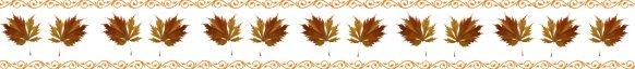 fall leaves clip art border